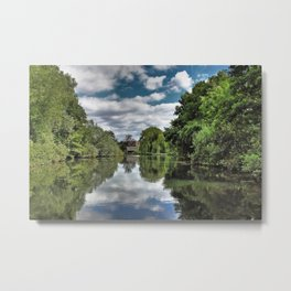River Bure Wroxham to Coltishall Metal Print