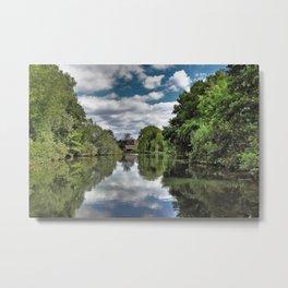 River Bure Wroxham to Coltishall Metal Print