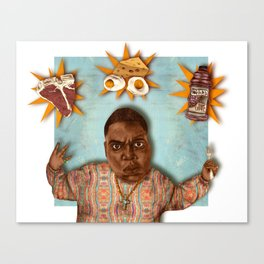 Breakfast of Champtions Canvas Print