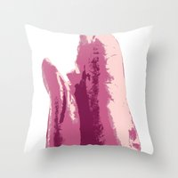 lungs Throw Pillows featuring Lungs by Joe St Hilaire