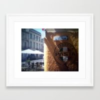 pasta Framed Art Prints featuring Pasta by Logan Amick