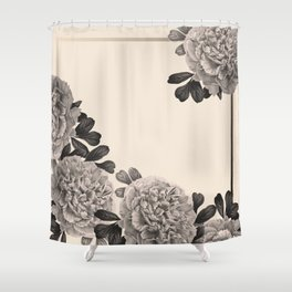 Flowers on a winter day Shower Curtain