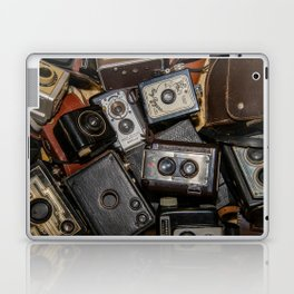 A Mess Of Old Cameras 2 Laptop & iPad Skin