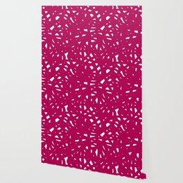 Pink Freeform Wallpaper