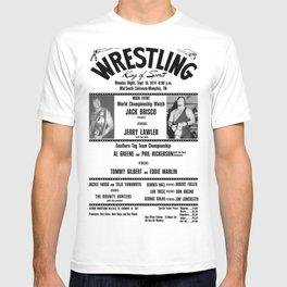 #1 Memphis Wrestling Window Card T-shirt