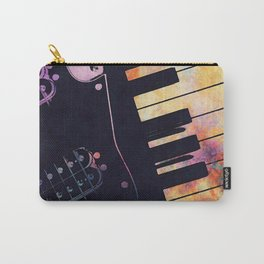 piano and guitar art #piano #guitar #music Carry-All Pouch