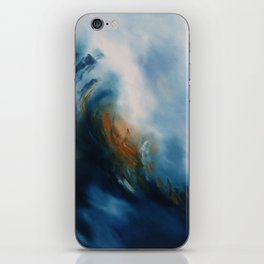 Above the storm iPhone Skin