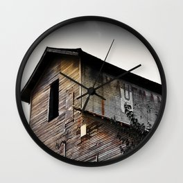 Kaufman Depot Wall Clock