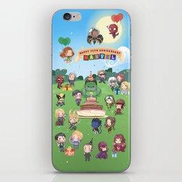 M A R V E L B-Day iPhone Skin