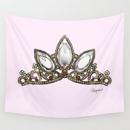 Rapunzel's Crown Wall Tapestry