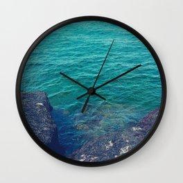 Edge Of The Sea Wall Clock
