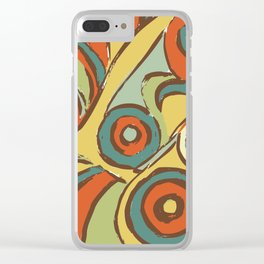 retro 1 Clear iPhone Case