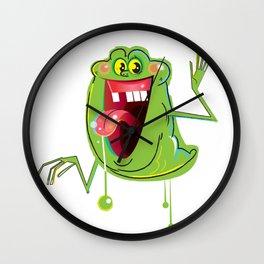 Slimer Wall Clock