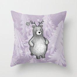 bearmas Throw Pillow