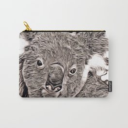 Rustic Style - Koala Carry-All Pouch