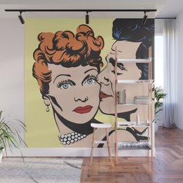 Lucy and Desi Wall Mural