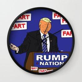 RUMP NATION Wall Clock