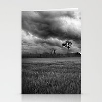oklahoma Stationery Cards featuring Oklahoma Sky by Austin's Designs