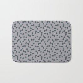 I LOVE STRENGTH (Light Background Option) Bath Mat