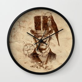 Extraordinary Gentleman Wall Clock