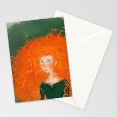 Merida from Brave (Pixar - Disney) Stationery Cards
