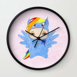 A Boy - Rainbow Dash Wall Clock
