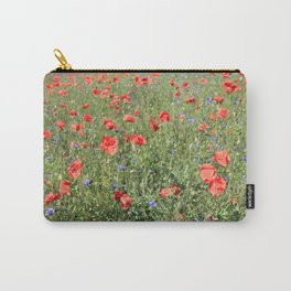poppy flower no5 Carry-All Pouch