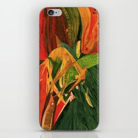 anxiety iPhone & iPod Skins featuring Anxiety by Nima