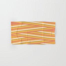 stripey sunny square Hand & Bath Towel