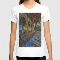 christ T-shirts featuring Christ Church by Ian Mitchell