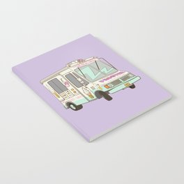 NYC Ice Cream Truck B Notebook