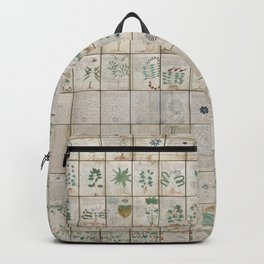 The Complete Voynich Manuscript - Natural Backpack