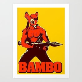The Awesome BAMBO Art Print