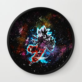 son goku art Wall Clock