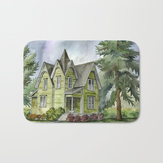 The Green Clapboard House Bath Mat