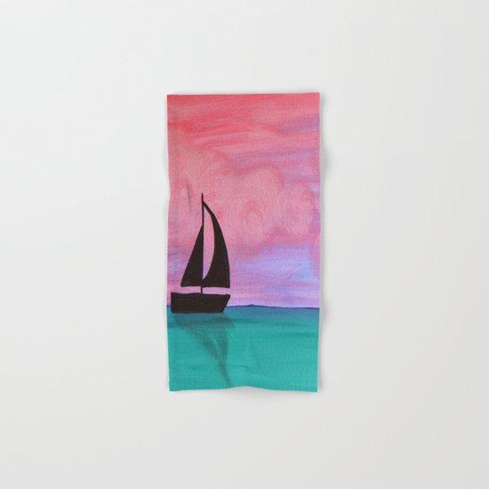 Sail Away Hand & Bath Towel