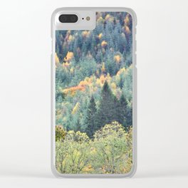 Highland Fling Clear iPhone Case