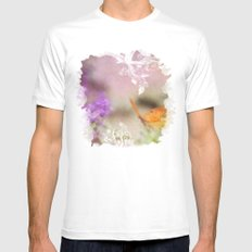 Maiden Flight MEDIUM White Mens Fitted Tee