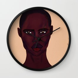 Melanin Wall Clock