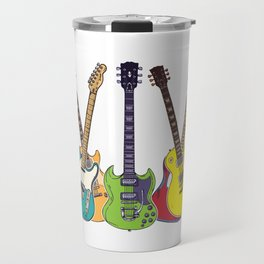 You Can Never Have Too Many Guitars Country Music For Blues Travel Mug