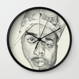 Tupac/Biggie Wall Clock