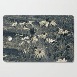 Country Flowers Cutting Board
