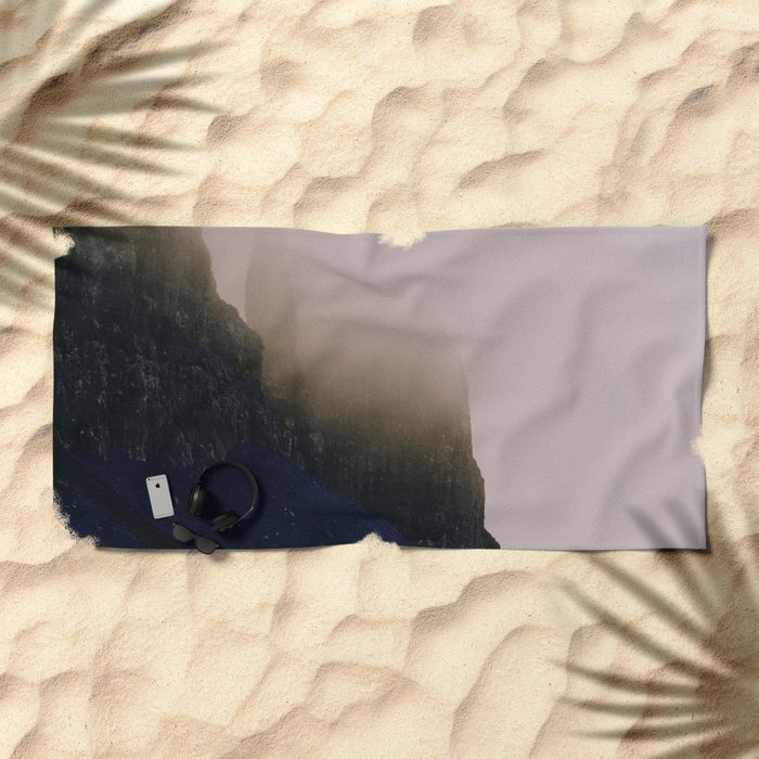 Salvation in Death #decor #prints #society6 Beach Towel