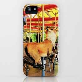 Fox Carousel Boston Greenway Carnival Merry-go-round iPhone Case