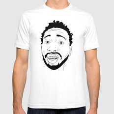 Ol Dirty Bastard  White Mens Fitted Tee SMALL