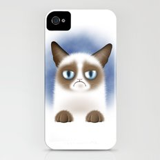 Nope (Grumpy Cat) Slim Case iPhone (4, 4s)