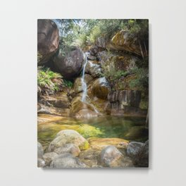 Lady Bath Falls - Mt Buffalo Metal Print