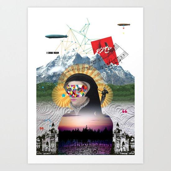 Broad Horizon Art Print