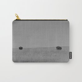 Two Tallgrass Bison Carry-All Pouch