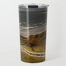 Rhossili bay south Wales Travel Mug
